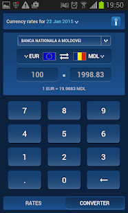 Inforama Exchange Rates- screenshot thumbnail