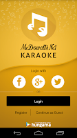 Screenshot of McDowell's No 1 Karaoke