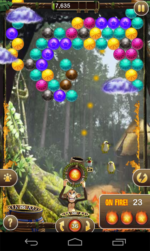 Bubble Safari™ - screenshot