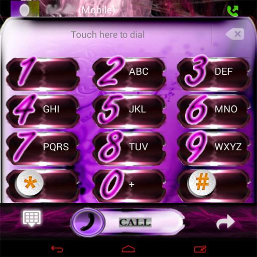 ピンクの炎のGOコンタクトEX 個人化 App LOGO-硬是要APP