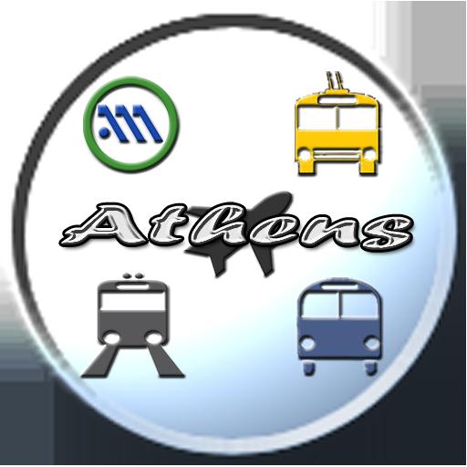 交通運輸必備App|Athens Public Transport Pro LOGO-綠色工廠好玩App