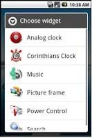 Screenshot of Relógio do Corinthians Timão