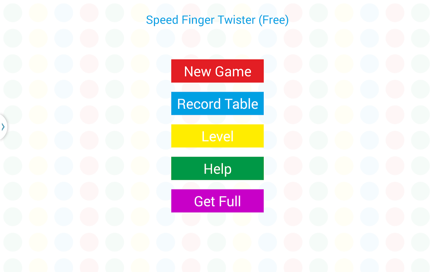 Speed Finger Twister- screenshot