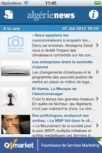 AlgerieNews - screenshot thumbnail