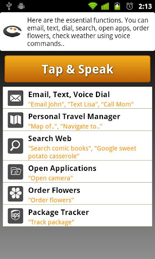 Cluzee Your Personal Assistant screenshot