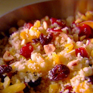 Israeli Couscous with Apples, Cranberries and Herbs Recipe