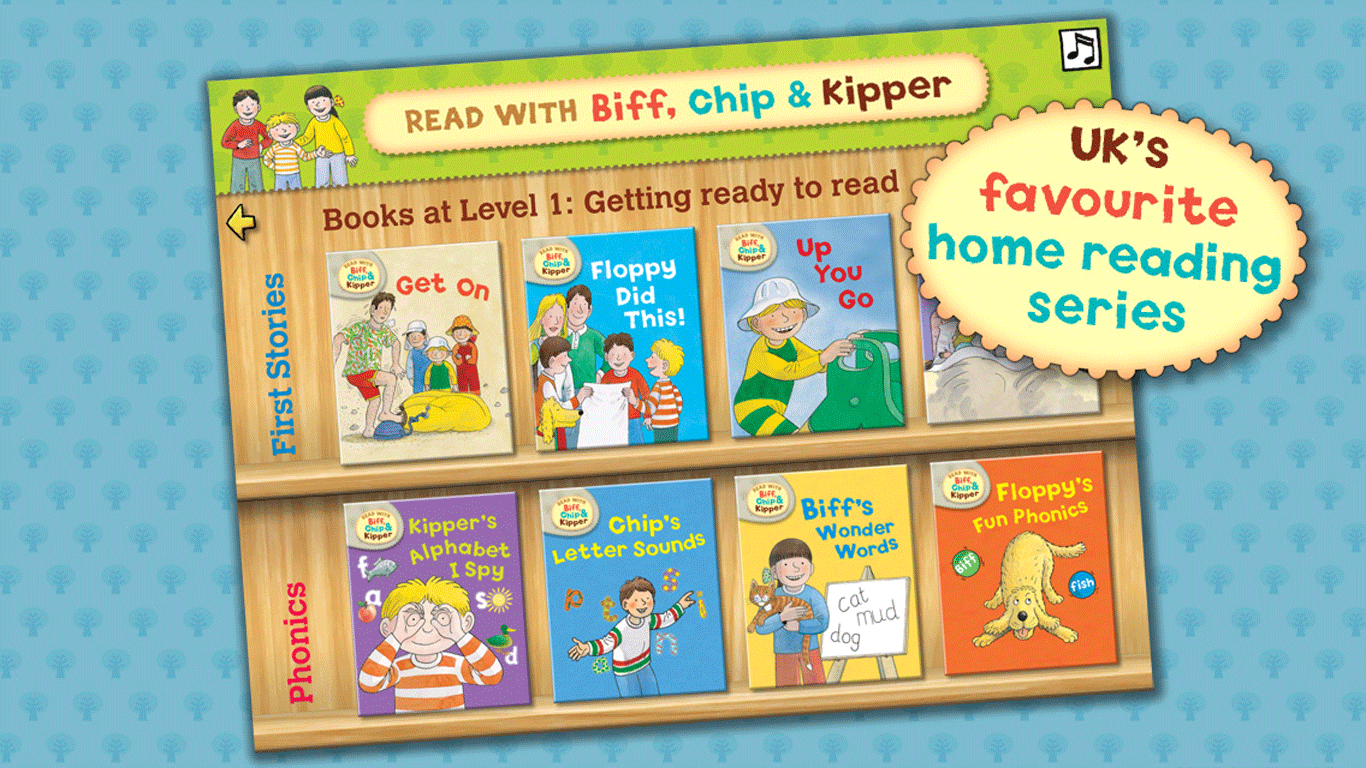 Biff, Chip & Kipper Library - screenshot