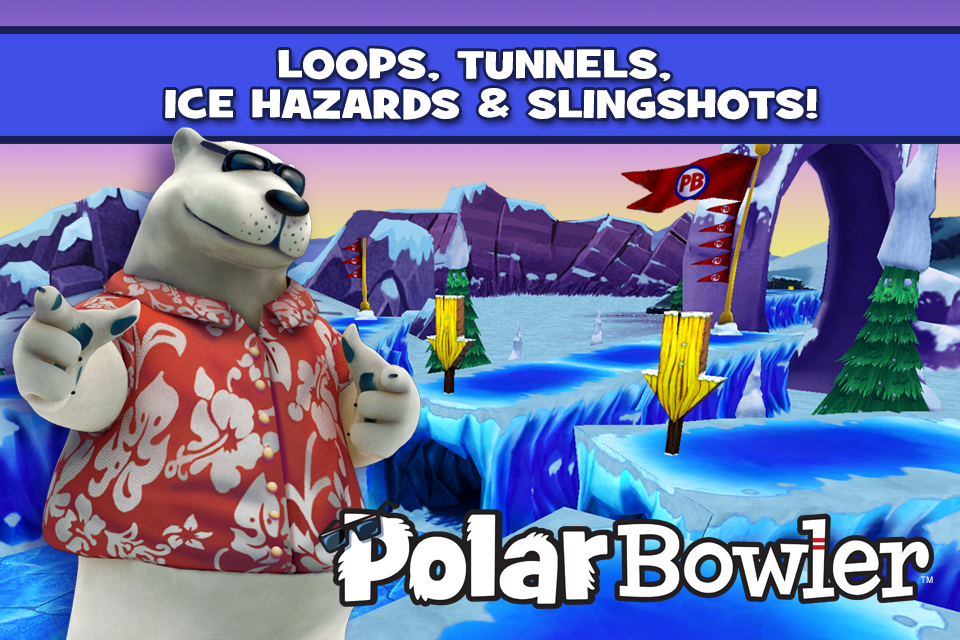 Polar Bowler - screenshot
