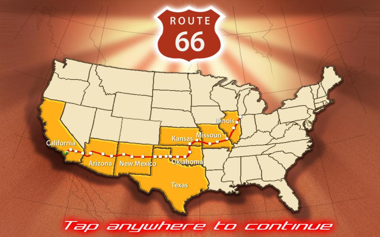 Route 66 - screenshot