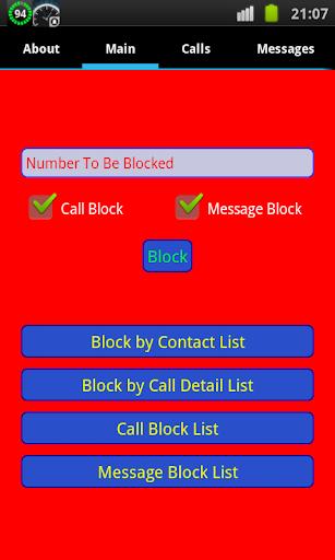 Call Sms Blocker