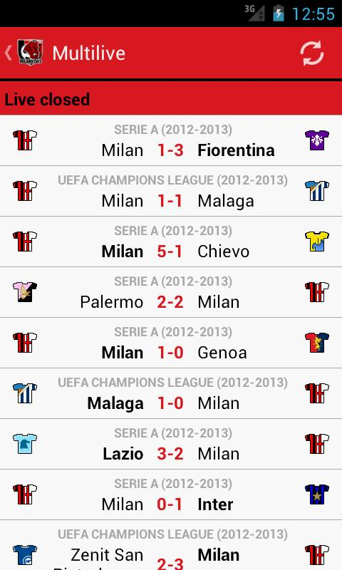 Milan News - screenshot