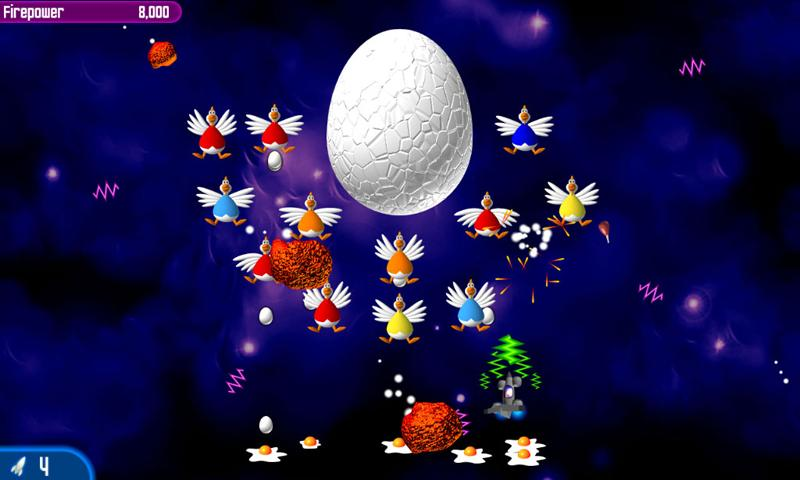 Chicken Invaders 2- screenshot