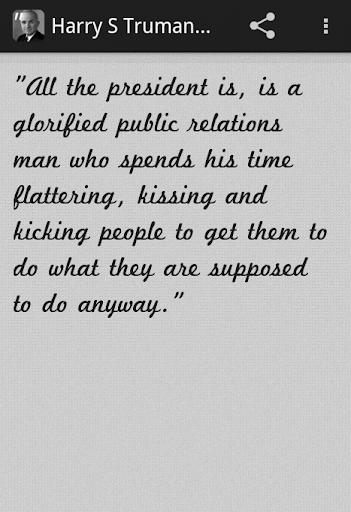 Harry S Truman Quotes Pro