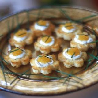 Brioche Rounds with Caviar