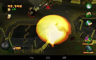 Screenshot of Burn Zombie Burn