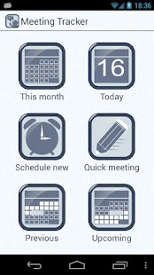 Meeting Tracker - screenshot thumbnail