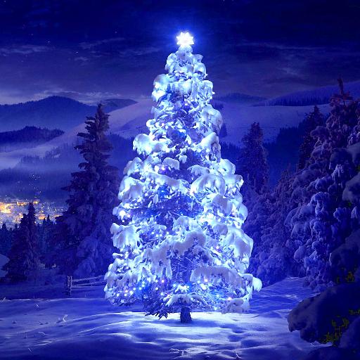 聖誕樹動畫壁紙 個人化 App LOGO-硬是要APP