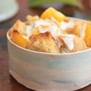 Mango Bread Pudding.