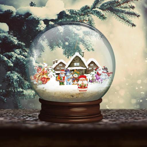 水晶聖誕快樂免費