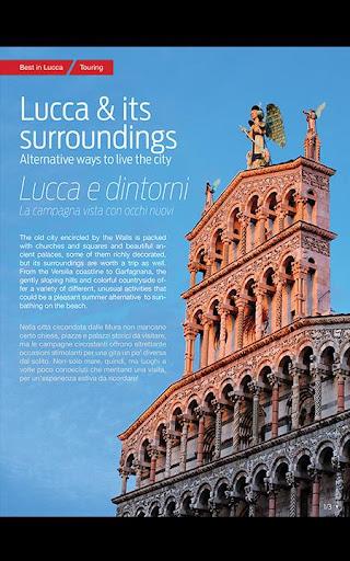 【免費旅遊App】Best in Lucca-APP點子