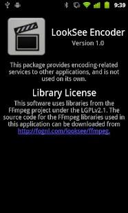 LookSee Encoder- screenshot thumbnail