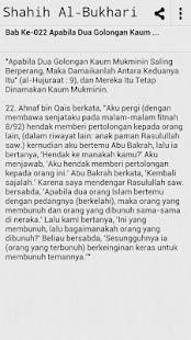 Sahih Al Bukhari - Melayu Book- screenshot thumbnail