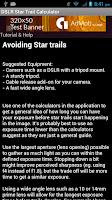 Screenshot of Star Trail Calculator