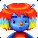 Huebert: coloring fun icon