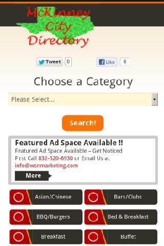 McKinney City Directory