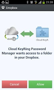Cloud Free Password Manager - screenshot thumbnail