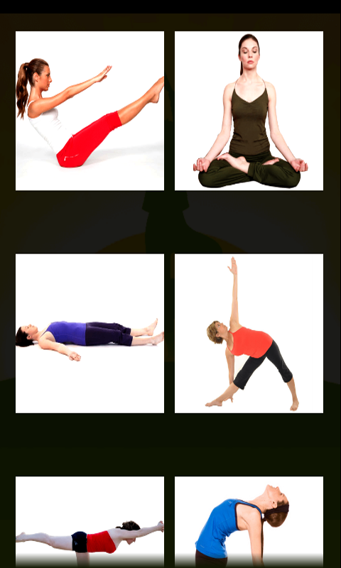 Yoga Asanas- screenshot