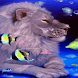Lion Aquarium Live Wallpaper