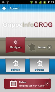 GrippeInfo GROG - screenshot thumbnail