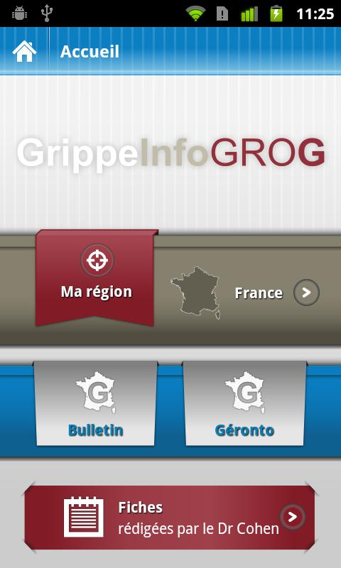 GrippeInfo GROG - screenshot