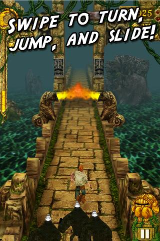 Temple Run Android App Screenshot