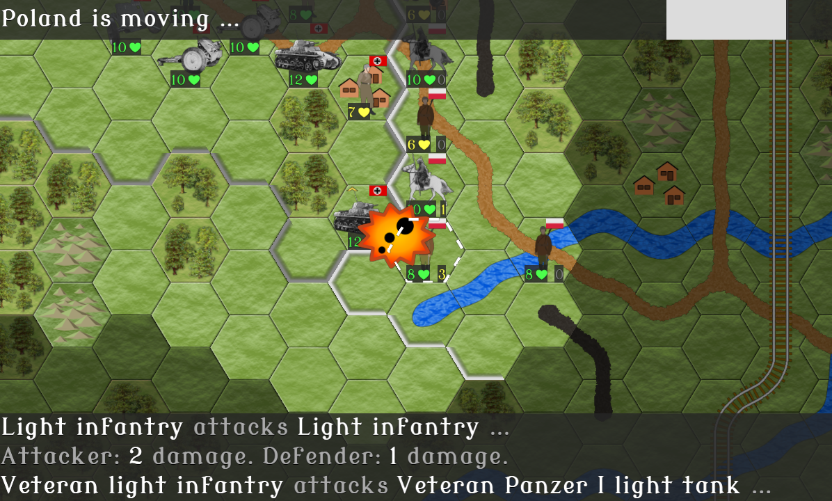 Wargames of 1939 - screenshot