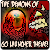 DEMONS of GO Launcher Theme