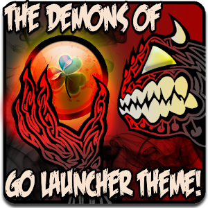 DEMONS of GO Launcher Theme 個人化 LOGO-玩APPs