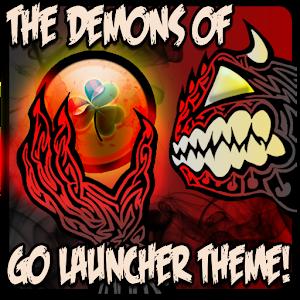 DEMONS of GO Launcher Theme 個人化 App LOGO-APP試玩