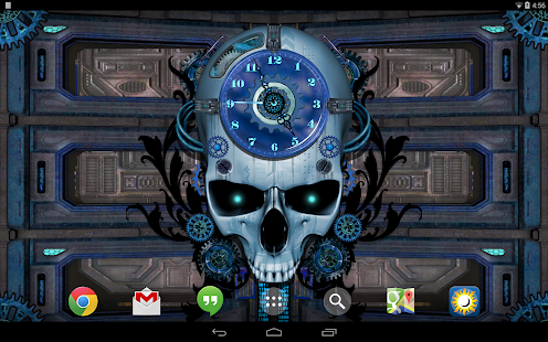 Steampunk Clock Live Wallpaper- screenshot thumbnail