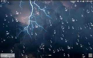 Screenshot of Thunder Storm Live Wallpaper