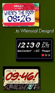 One More Clock Widget- screenshot thumbnail