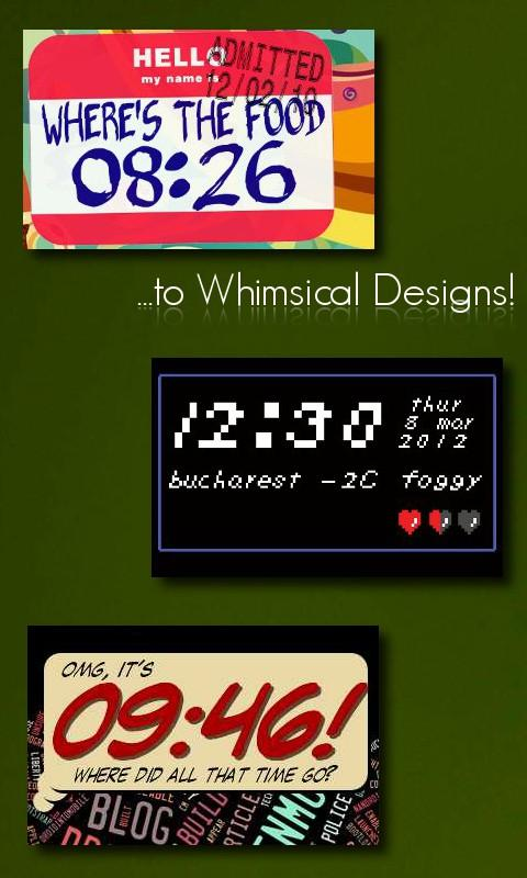 One More Clock Widget - screenshot