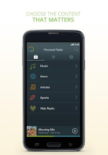 Personal Radio by AUPEO! - screenshot thumbnail