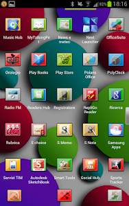 Neon Next Launcher 3D Theme v1.0