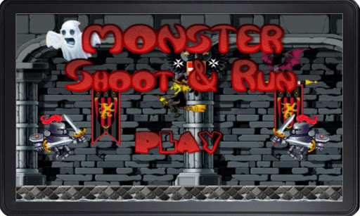 Run Game Monster shoot and run