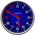 Color Tachometer Clocks Free logo