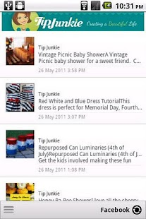 Tip Junkie - screenshot thumbnail