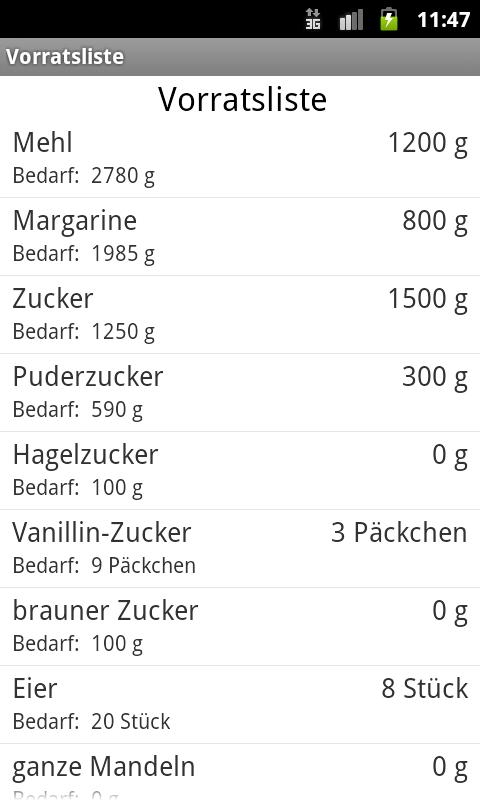 Plätzchen backen- screenshot