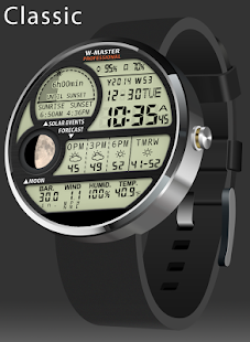 F04 WatchFace for Moto 360- screenshot thumbnail